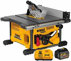 compound miter saw vs table saw hands on with the new dewalt flexvolt cordless saws