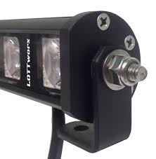 Led Light Bar For Dirt Bike by Lottworx Universal Motorcycle Battery Powered Double Row Led