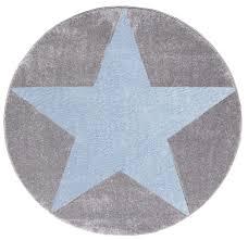 teppich mit sternen teppich rund mit stern grau hellblau honeyhome ch