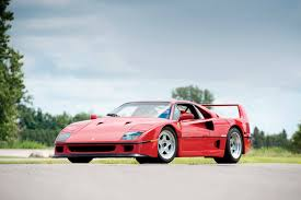f40 auction rod stewart s former f40 heading to auction gtspirit