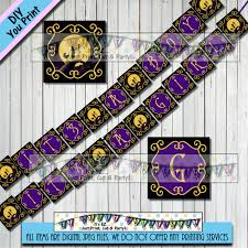 printable halloween banners nightmare before christmas baby shower banner boy banner