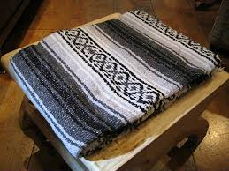 amazon com large authentic mexican falsa blanket mexican blanket