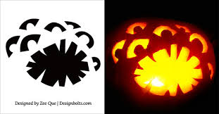 Free Scary Halloween Pumpkin Stencils - 30 free scary halloween pumpkin carving stencils patterns u0026 ideas