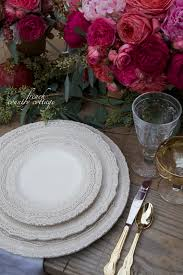 romantic thanksgiving table setting french country cottage