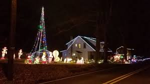 lights christmas the most festive christmas lights displays in nj for 2017
