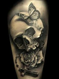 skull and butterfly designs in 2017 photo