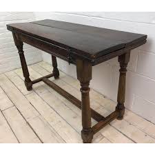 Oak Top Dining Table Oak Folding Top Dining Table Chairish