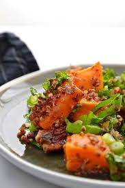 que manger le midi au bureau woaw mais quel délice cette salade de patates douces j en