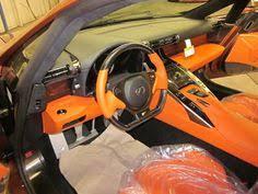 orange lexus lfa lexus lfa pearl brown with orange interior auto addiction