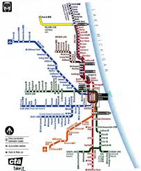 Chicago Cta Train Map by Bucky And His Bike Chicago And Oh Yeah Biking Most Of The Way