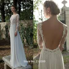 wedding dress suppliers aliexpress buy backless sleeve lace wedding dress open