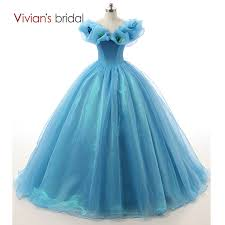 online get cheap blue wedding dresses and gowns aliexpress com