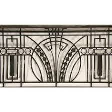 art deco balcony art deco wrought iron balcony rail railing fence headboard gate