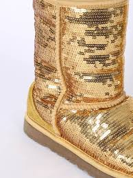 ugg sale gr e 38 ugg sequins boots gold 38 luxury bags