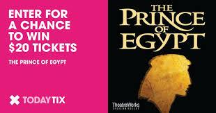 prince egypt lottery tickets sf bay area todaytix