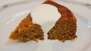 pumpkin pudding cake recipe cookingwithalia episode 286 youtube