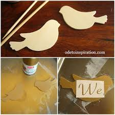 bird cake topper wood bird cake topper ode to inspiration