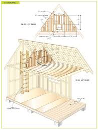 free cabin blueprints free wood cabin plans tree house wood cabins