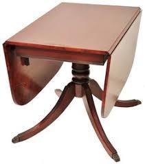 Drop Leaf Pedestal Table Painted Drop Leaf Duncan Phyfe Table Duncan Fife Drop Leaf Table