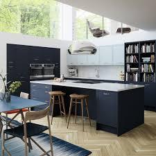 blue kitchen blue kitchens blue kitchen cabinets units magnet