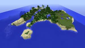 Minecraft Map Seeds Minecraft Paradise Island Seed 1 8 8 With River Lake Animals