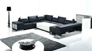 canapé d angle noir et blanc pas cher canape d angle blanc et noir canapac dangle noir et blanc marabella