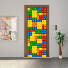 aliexpress com buy qt 0319 building blocks imitation 3d door