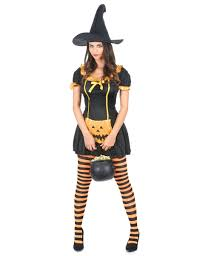 pumpkin witch costume for women