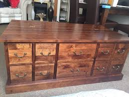 Apothecary Coffee Table by Next Apothecary Coffee Table Storage 10 Drawer In Poole Dorset