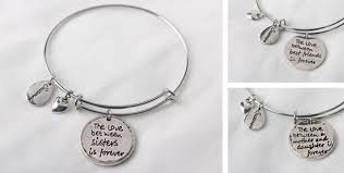 mothers day bracelet silver engraved charm bracelet 7 shipped s day idea my