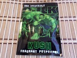 incredible hulk kush 10 spice incense