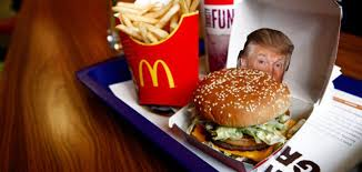 Macdonalds Meme - trump makes mcdonald s great again by becoming a meme