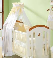Cot Bed Canopy Coronet Baby Canopy Drape Mosquito Net 320cm Cl Rod Fits
