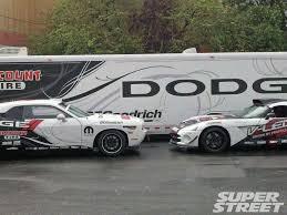 dodge challenger vs viper hubinette launches two car drift team intel magazine