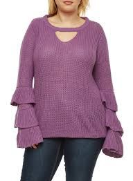 plus size sweaters for rainbow