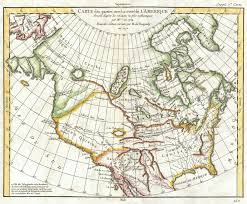 Map Of The North America by File 1772 Vaugondy Diderot Map Of North America The Northwest