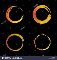 Warm Orange Color Vector Isolated Warm Orange Color Logo Unusual Graphic Design
