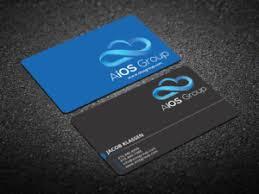191 upmarket information technology business card designs