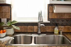 cleaning kitchen faucet domestic fashionista the kitchen sink styling cleaning routine