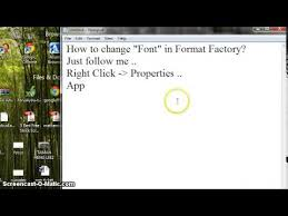 format factory app for android free download how to change font in format factory youtube