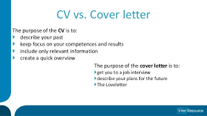 what is cover letter cv cv and cover letter counseling