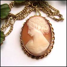 antique gold cameo necklace images Sandi pointe virtual library of collections jpg