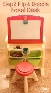 Step 2 Art Desk by Step2 Flip U0026 Doodle Easel Desk With Stool Review U0026 Giveaway