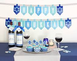 hanukkah banner celebrate hanukkah with free printables gift favor ideas from