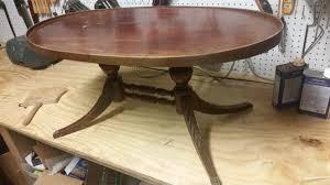 antique coffee table restoration album on imgur