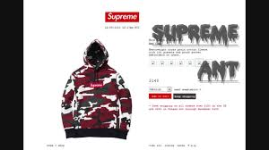 fw13 supreme box logo hoodie checkout youtube