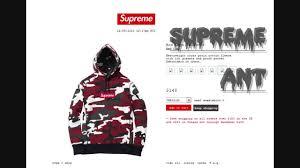 fw13 supreme box logo hoodie checkout youtube