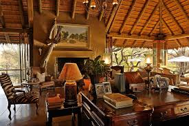 African Living Room Home Design Ideas - Safari decorations for living room
