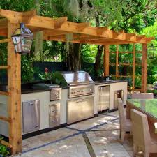 back yard kitchen ideas outdoor kitchen awesome outdoor island kitchen backyard kitchens