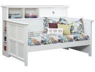 full bookcase bed art van furniture